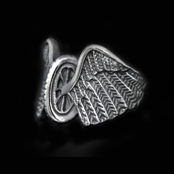 BIKER WING RING - Rebelger.com