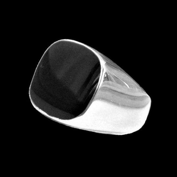BLACK TOP SQUARE RING-Rebelger.com