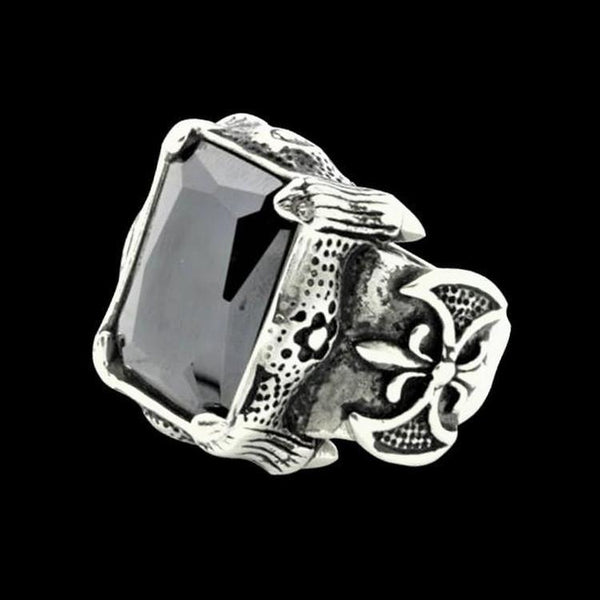 CLAW GEM RING - Rebelger.com
