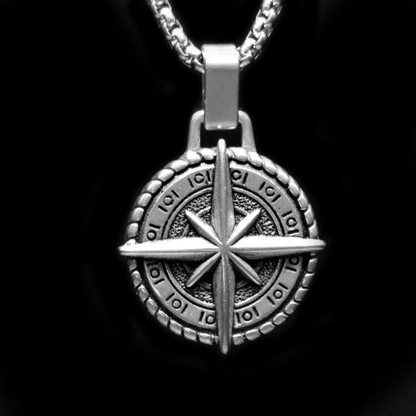 COMPASS NECKLACE - Rebelger.com