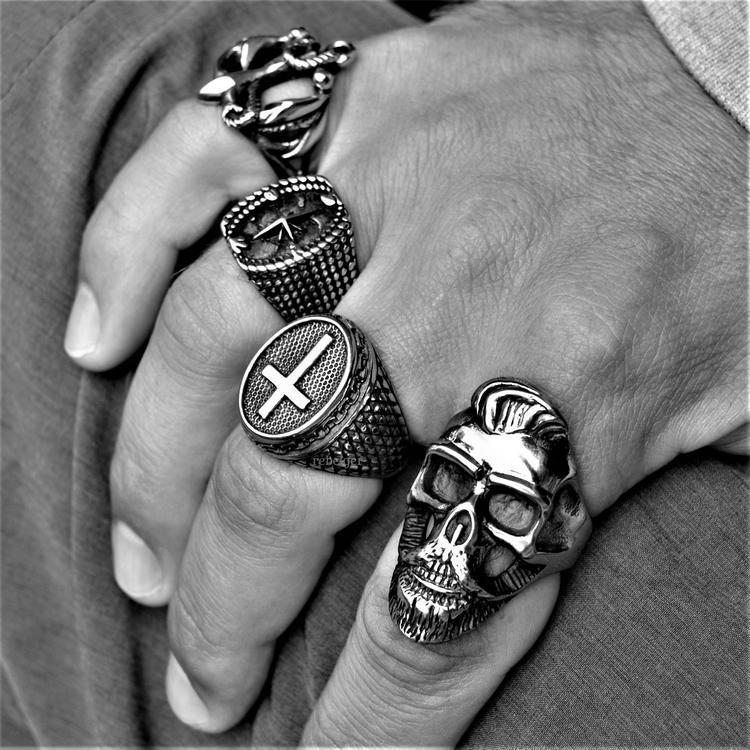 COMPASS STAR RING-Rebelger.com