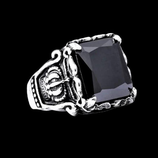 CROWN GEM RING-Rebelger.com