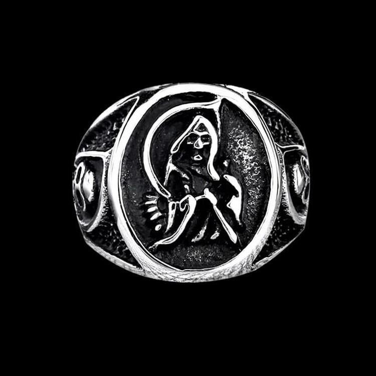 DEATH SIGNET RING - Rebelger.com
