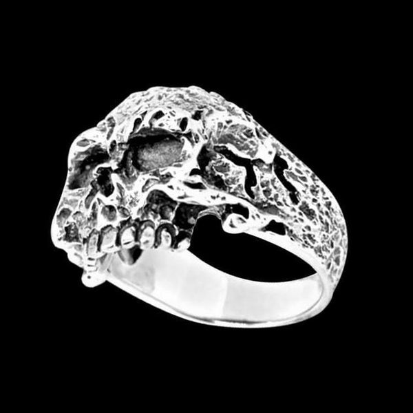 DECAY SKULL 925 RING-Rebelger.com