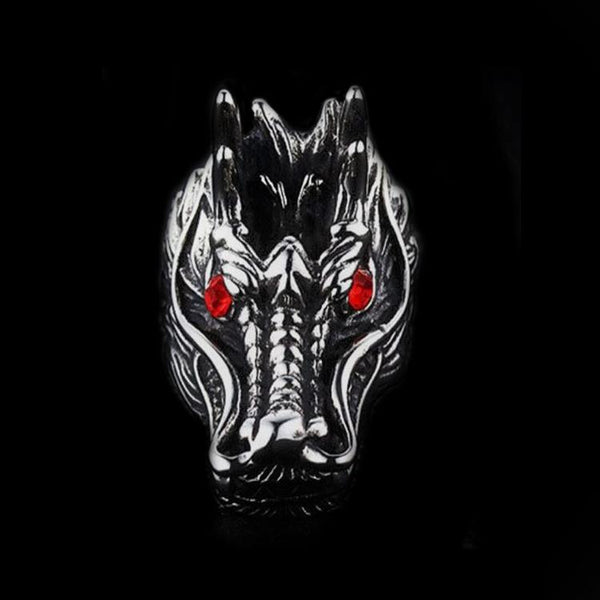 DRAGON HEAD RING-Rebelger.com