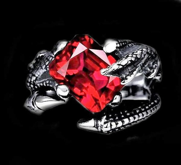 DRAGON KEEPER STONE RING-Rebelger.com