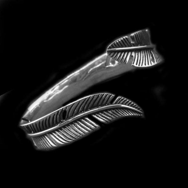 EAGLE FEATHER BRACELET-Rebelger.com