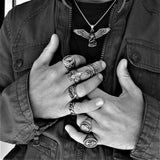 EAGLE NECKLACE-Rebelger.com