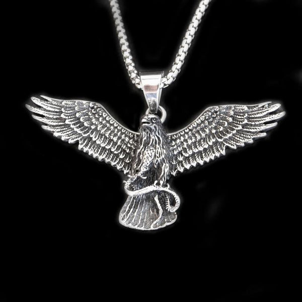 EAGLE NECKLACE - Rebelger.com