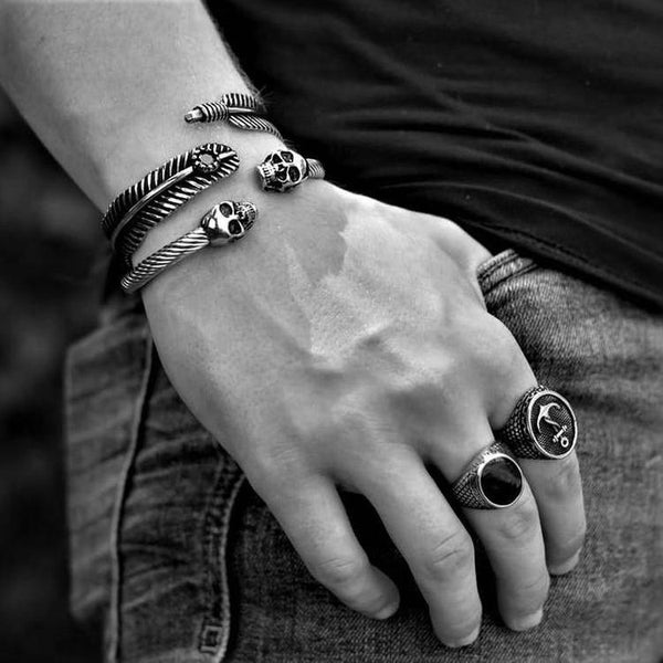 FEATHER STONE BRACELET-Rebelger.com