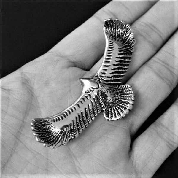 FLYING EAGLE NECKLACE-Rebelger.com