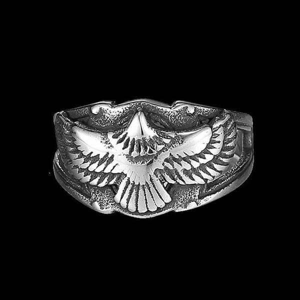 FLYING EAGLE RING-Rebelger.com