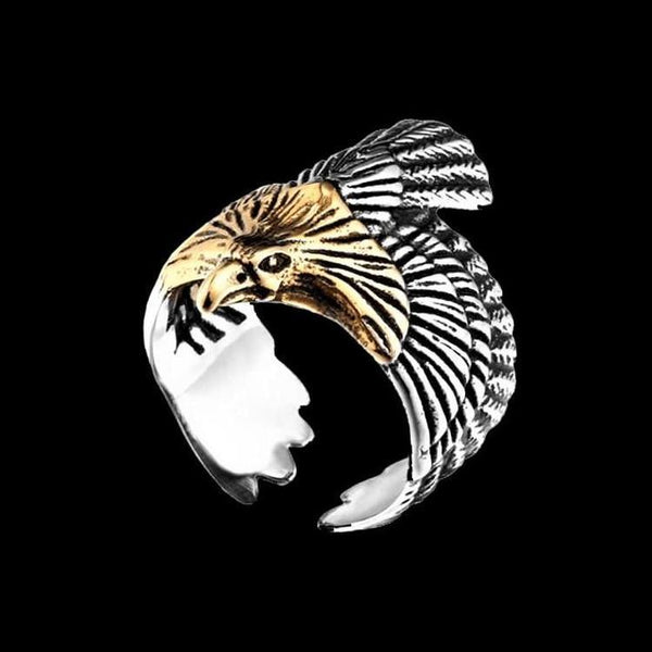 FREEDOM EAGLE RING-Rebelger.com