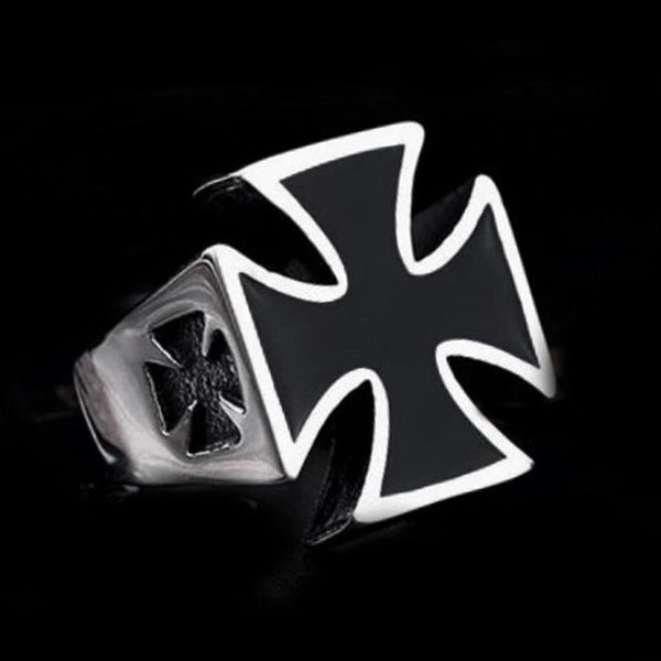 IRON CROSS RING - Rebelger.com