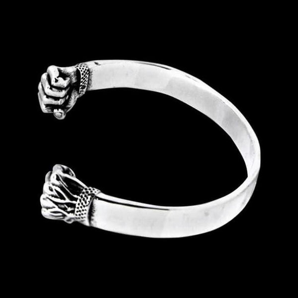IRON FIST BANGLE CUFF - Rebelger.com