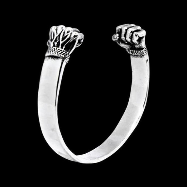 IRON FIST BANGLE CUFF-Rebelger.com