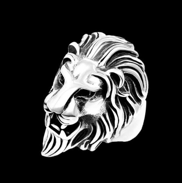 LION HEAD RING - Rebelger.com
