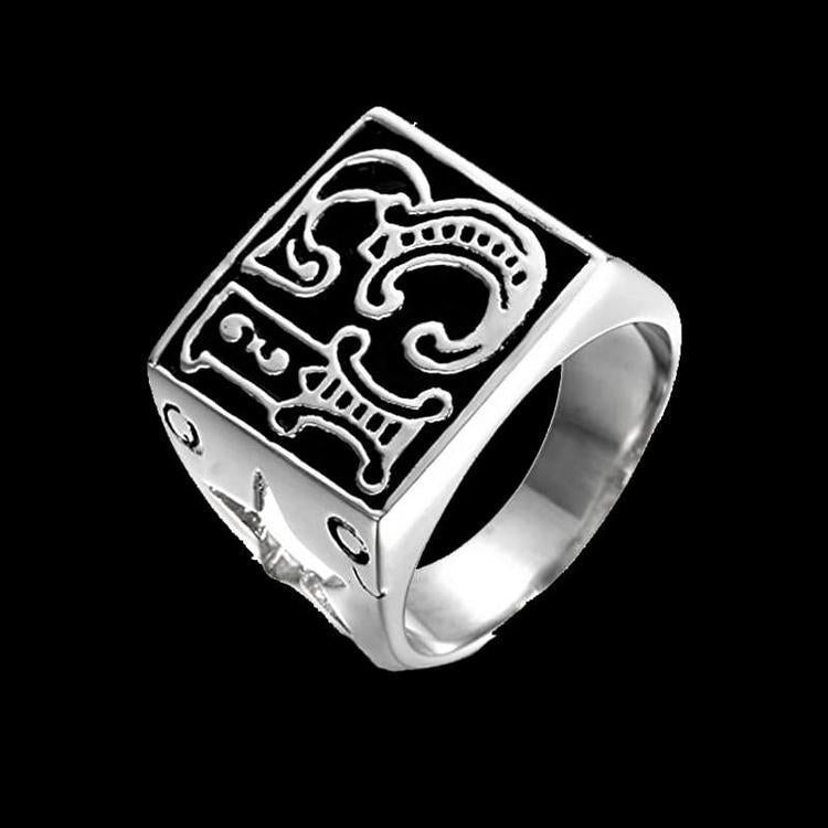 LUCKY 13 STAR RING - Rebelger.com