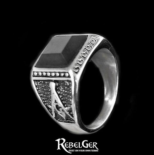 MASONIC GEM RING - Rebelger.com