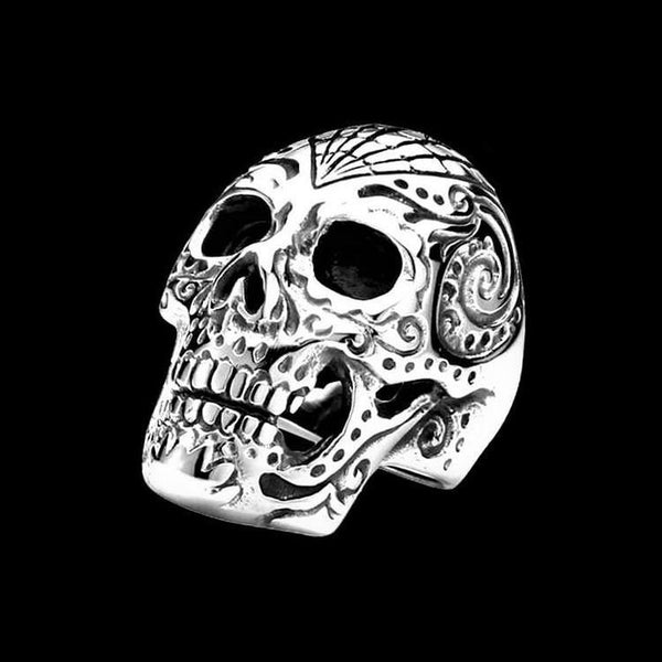 MEXICAN SKULL RING - Rebelger.com