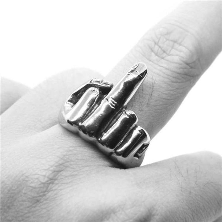 MIDDLE FINGER RING-Rebelger.com