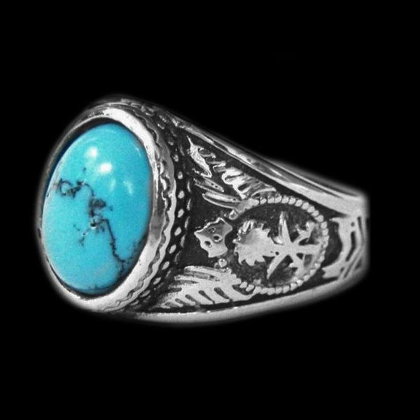 NATIVE NAVAJO STONE RING - Rebelger.com