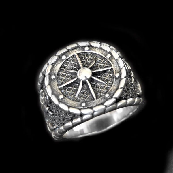 NAUTICAL NAVIGATION ANCHOR RING-Rebelger.com
