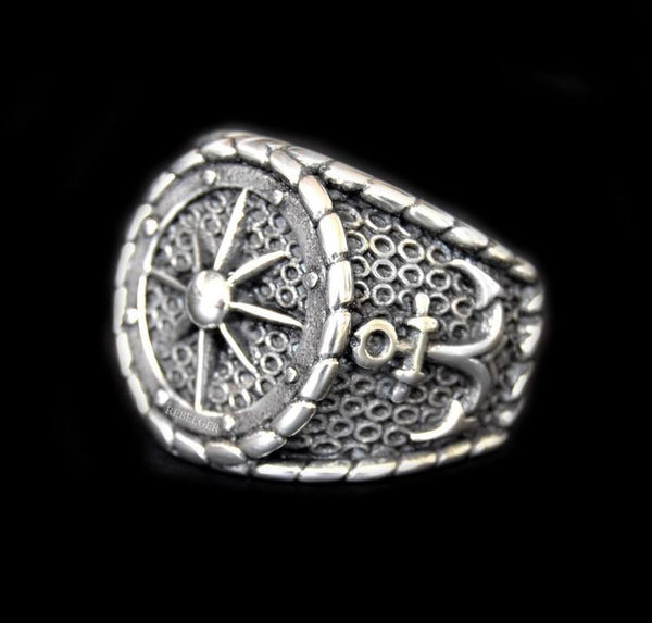 NAUTICAL NAVIGATION ANCHOR RING - Rebelger.com
