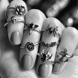 NORTH STAR KNUCKLE RING - Rebelger.com