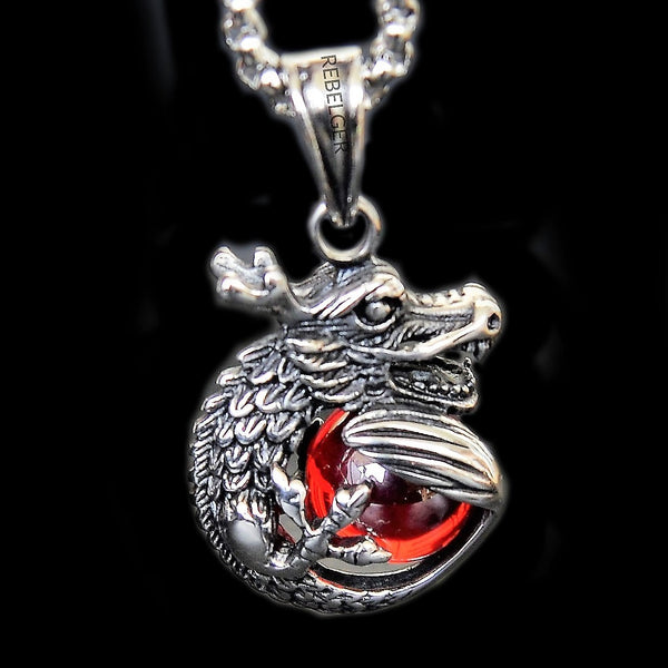 DRAGON NECKLACE - Rebelger.com