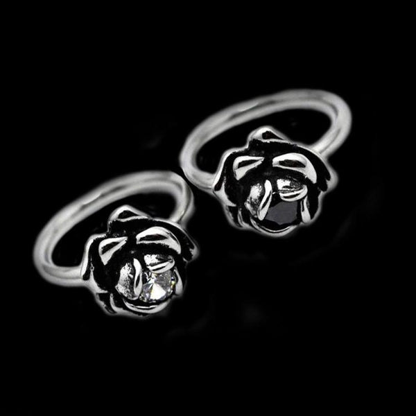 ROSE STONE KNUCKLE RING - Rebelger.com
