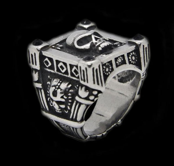 ROYAL SKULL RING - Rebelger.com