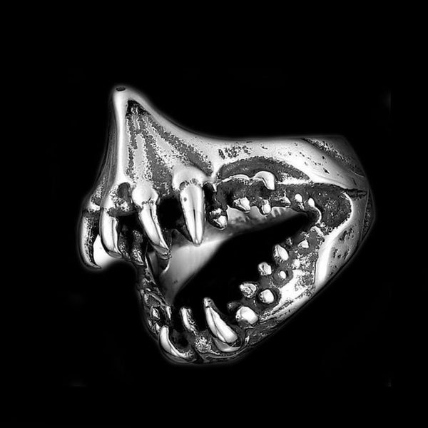 SHARP TEETH RING - Rebelger.com