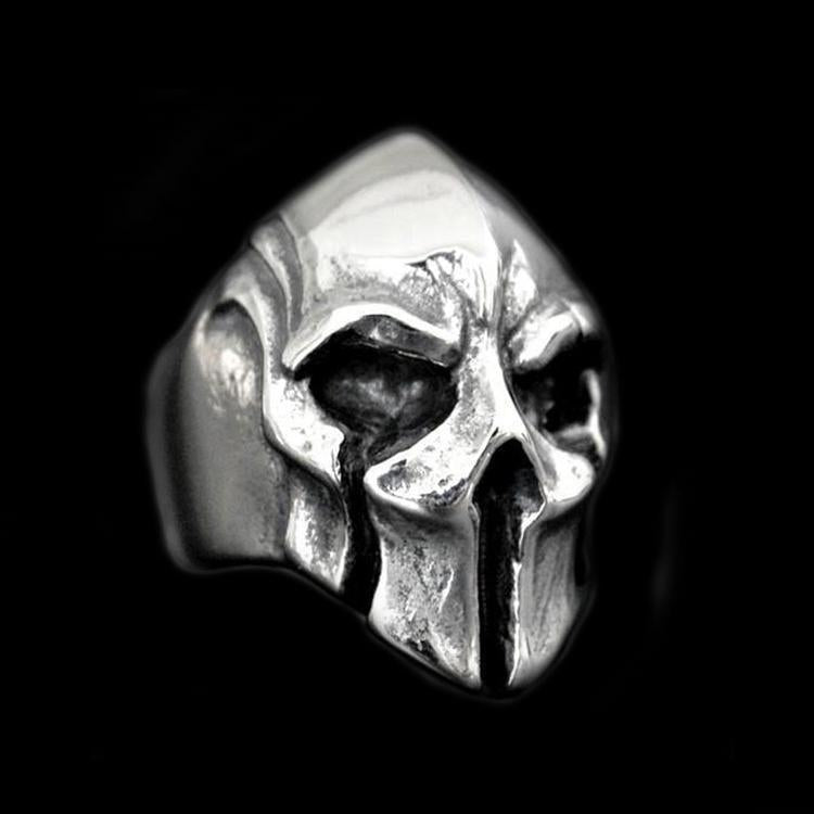 SILVER MASK HELMET RING - Rebelger.com