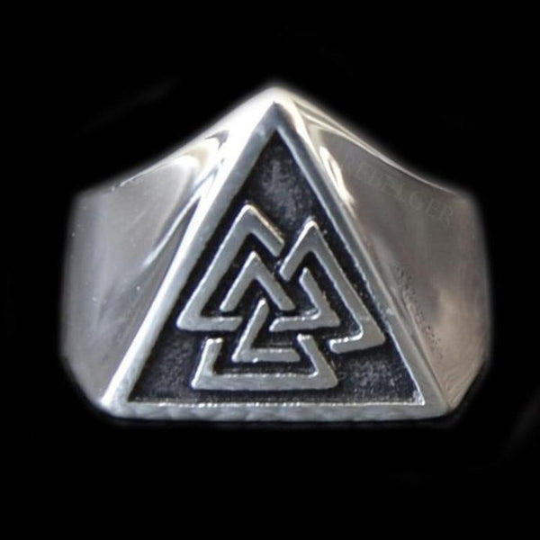 SLAIN WARRIOR RING - Rebelger.com