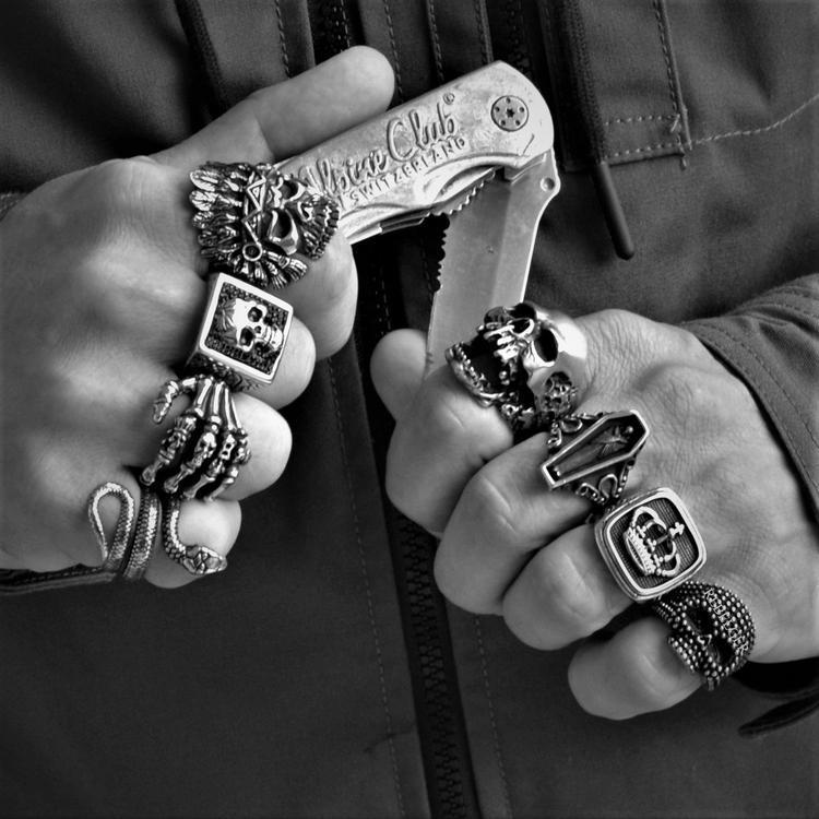 SNAKE RING - Rebelger.com