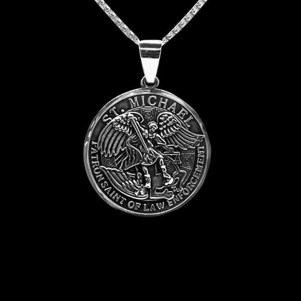 ST MICHAELS NECKLACE-Rebelger.com