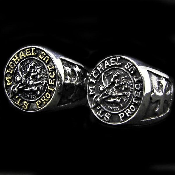ST MICHAELS RING-Rebelger.com