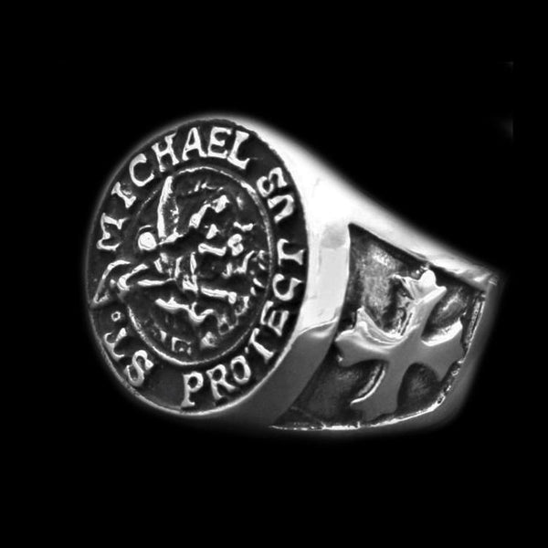 ST  MICHAELS RING - Rebelger.com