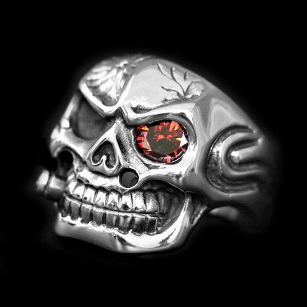 THE BOSS SKULL RING - Rebelger.com
