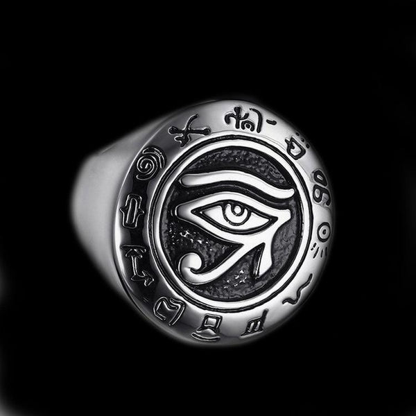 THE EYE OF HORUS RING-Rebelger.com