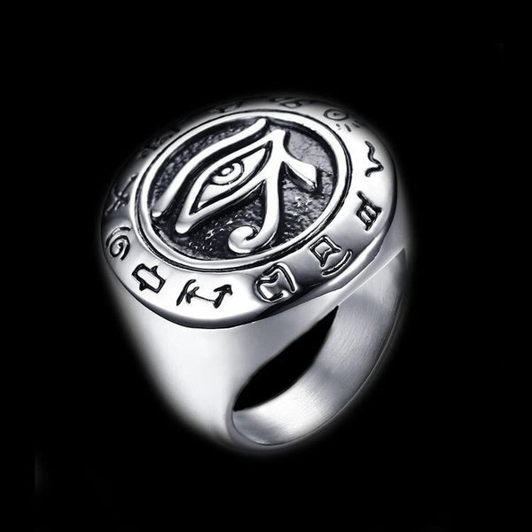 THE EYE OF HORUS RING - Rebelger.com