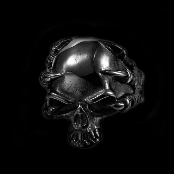 THINKING SKULL RING - Rebelger.com