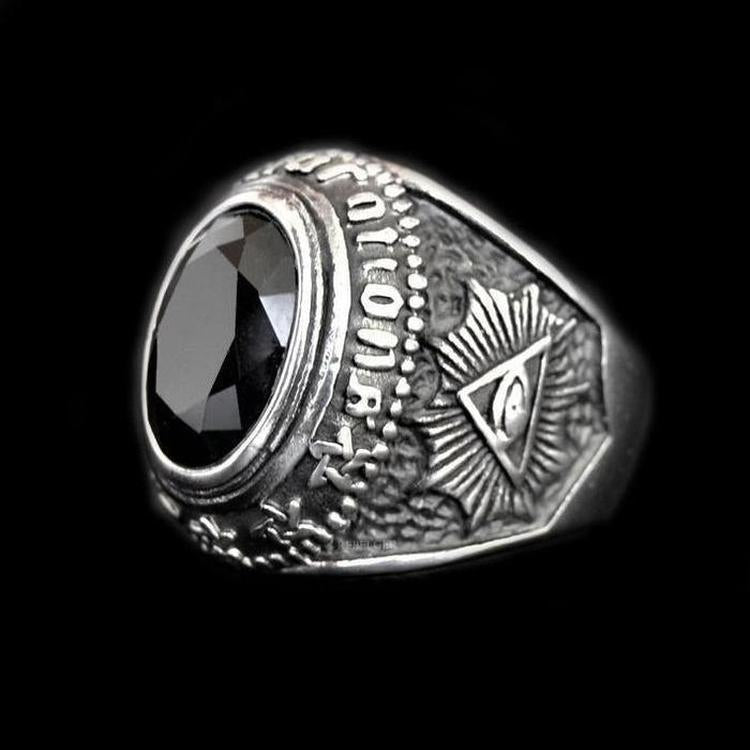 TOTEM GEMSTONE RING - Rebelger.com