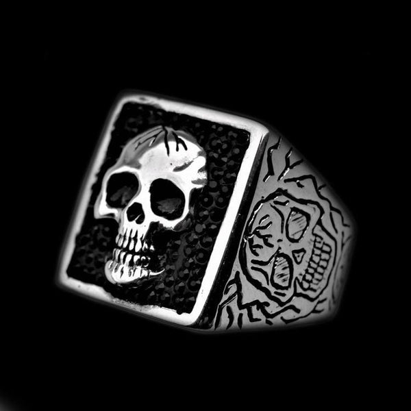 TREASURE SKULL RING-Rebelger.com
