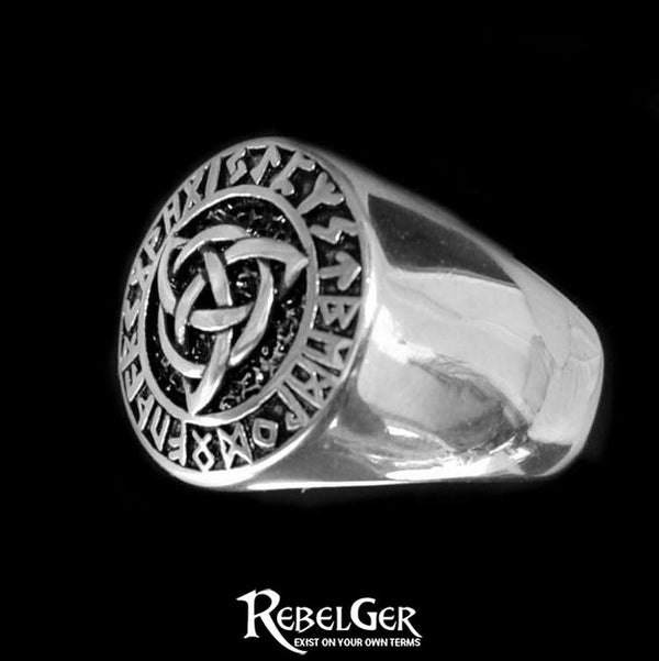 TRIQUETRA VIKING RING - Rebelger.com