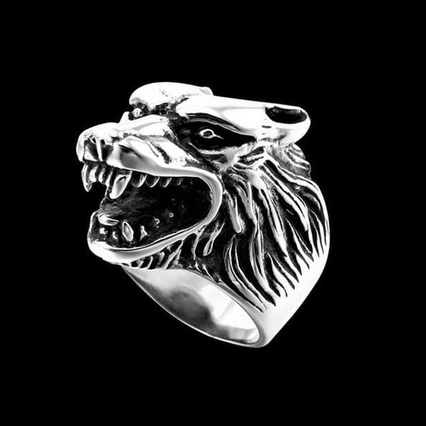 WILD WOLF RING-Rebelger.com