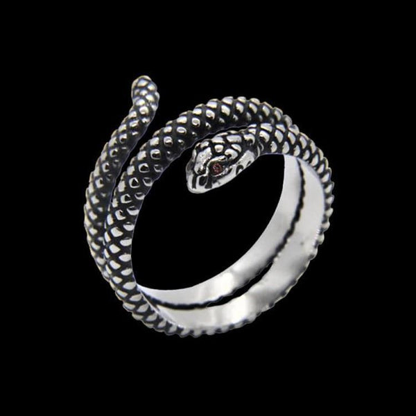 WRAP SNAKE RING - Rebelger.com