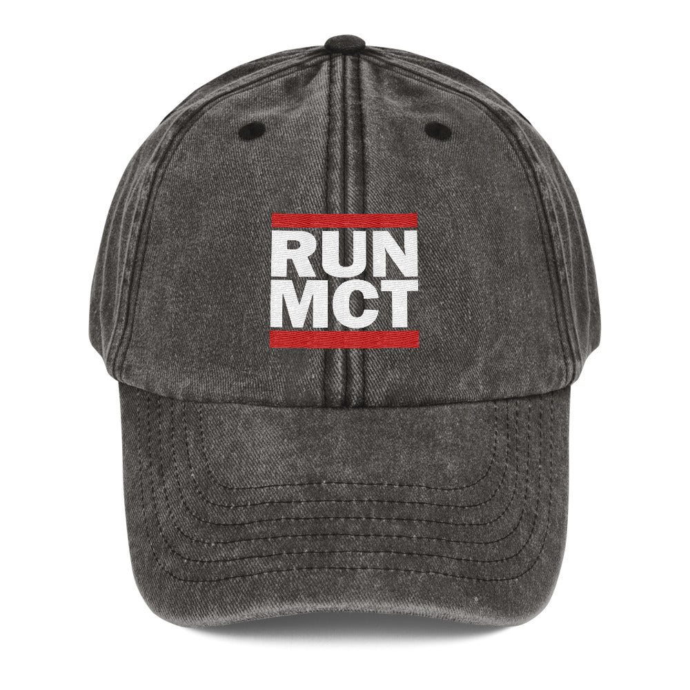RUN MCT -Vintage Hat