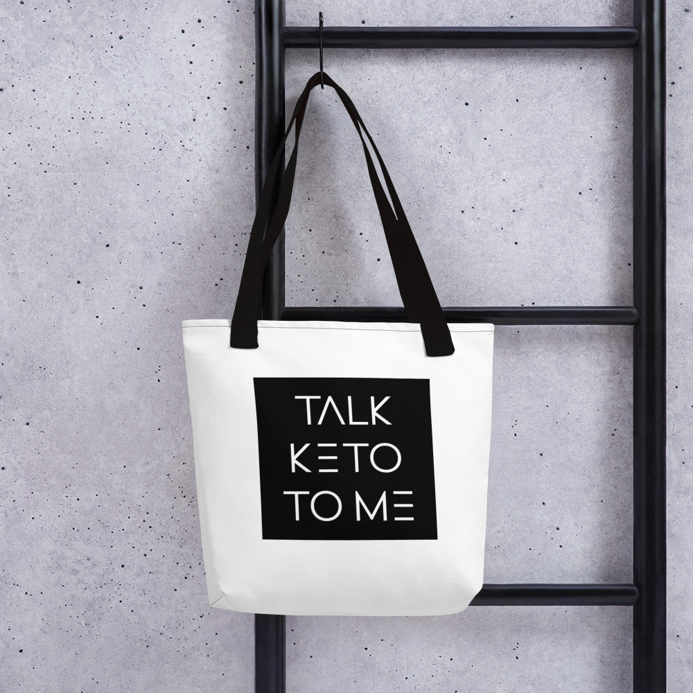 Talk Keto to Me -Tote bag